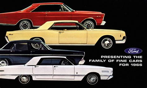 how to learn everything about cars 1966 ford mustang user handbook 1966 ford full line brochure