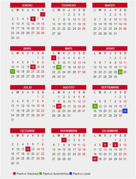 Calendario Laboral 2017 Madrid Capital Calendario 2017 P 225 4 De 5 Caledarios 2017 Para
