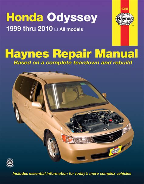 car owners manuals free downloads 2006 honda odyssey parental controls honda odyssey 99 10 haynes repair manual haynes manuals