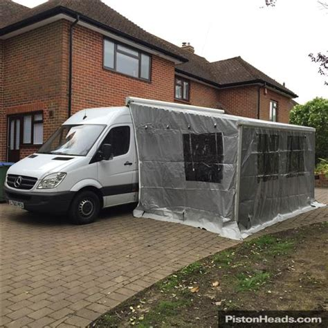 Mercedes Sprinter Awning by Merc Sprinter M Home Awning Garage Paddock 42