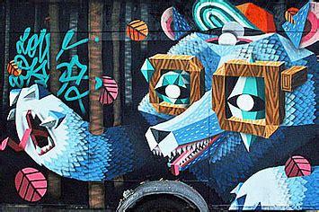 27 raddest animal themed graffiti