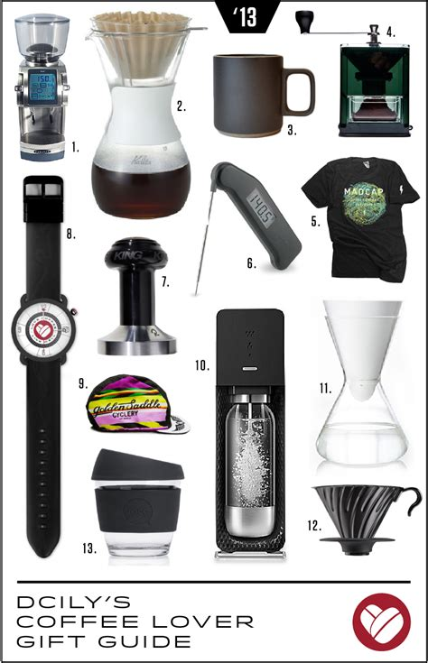 dcily s coffee lover gift guide 2013 dear coffee i love