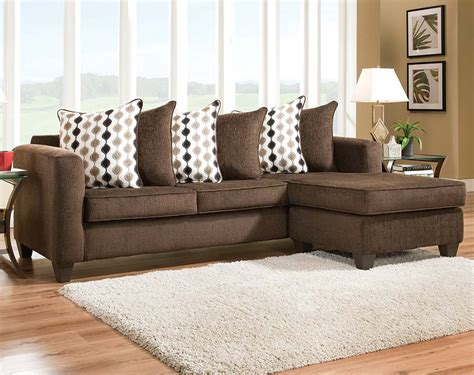 Livingroom Packages by Dark Brown Sectional Sofa Radar Mahogany Two Piece