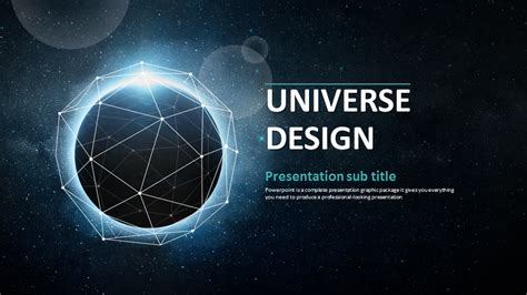 powerpoint themes universe universe ppt wide goodpello