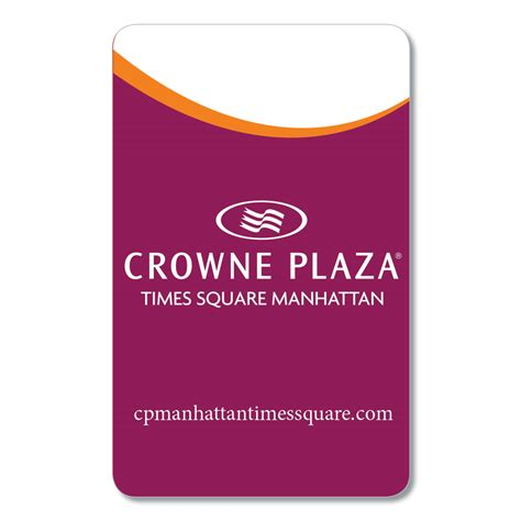 Crowne Plaza Gift Card - crowne plaza times square plastilam plastilam
