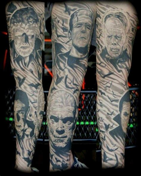 universal tattoo universal monsters tattoos monsters