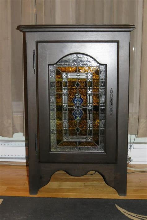 Stained Glass Cabinet by Wine Cabinet With Stained Glass Door Canadian Home Workshop