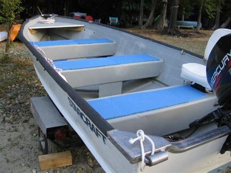 starcraft boats bc 14 ft aluminum starcraft boat including 20 hp motor north