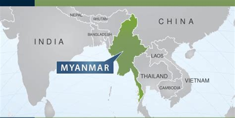 myanmar on world map courses myanmar may 2nd to may 5th 2016