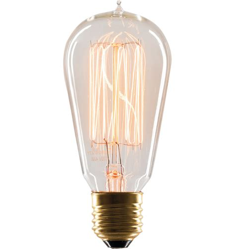 Filament Light Bulb Fixtures 40w 1912 Squirrel Cage Tungsten Filament Bulb Rejuvenation