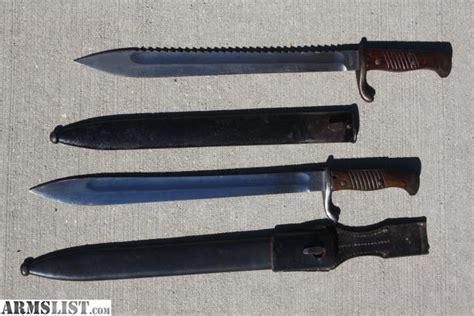 bayonets sale armslist for sale trade ww1 german bayonet