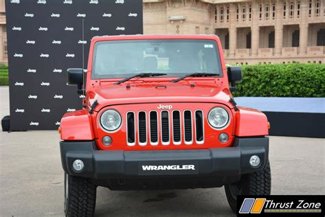 jeep wrangler india jeep wrangler unlimited india launch commences at rs 71 5