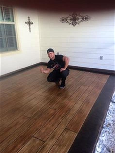 How To Make Concrete Floors Look Like Wood by 1000 Ideas About Concrete Wood Floor On
