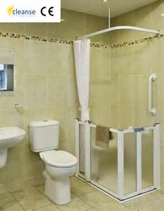 height of shower door cleanse half height shower doors disabled products