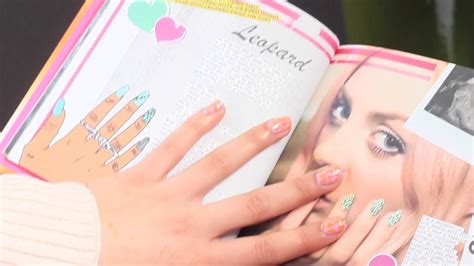 wah london tutorial wah nails book tutorial 7 leopard print youtube