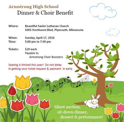 2800 northwest blvd plymouth mn concert choir benefit ticket admit 1