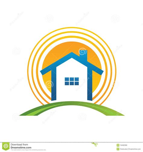 sun house house with sun royalty free stock photo image 19492395