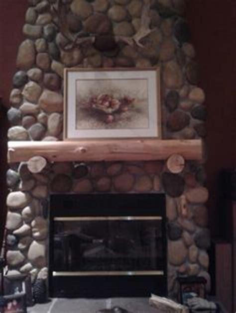 Faux River Rock Fireplace Panels by Brook River Rock Faux Panel Winter Blend