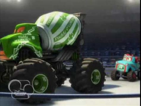 mater monster truck video cars toons monster truck mater preview trailer youtube