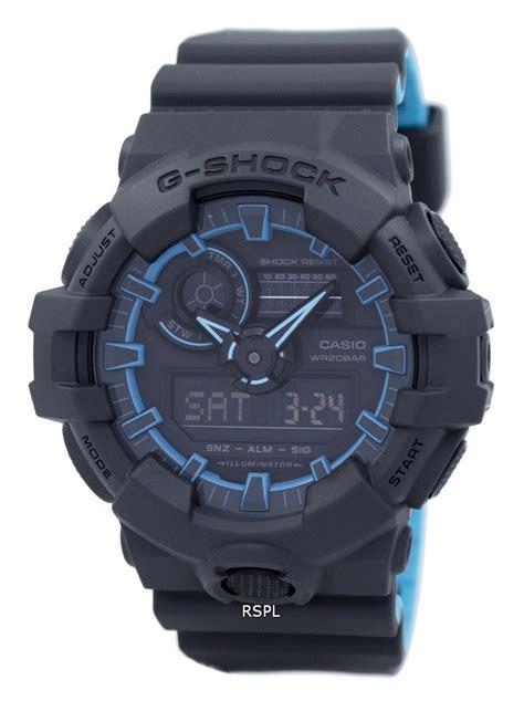Casio Gshock Ga 700 2a Original 1 casio g shock illuminator shock resistant ga 700se 1a2 ga700se 1a2 s citywatches co uk