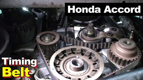 genuine 174 honda accord 1997 timing cover 2002 honda accord timing belt balance shaft valve cover tune up youtube