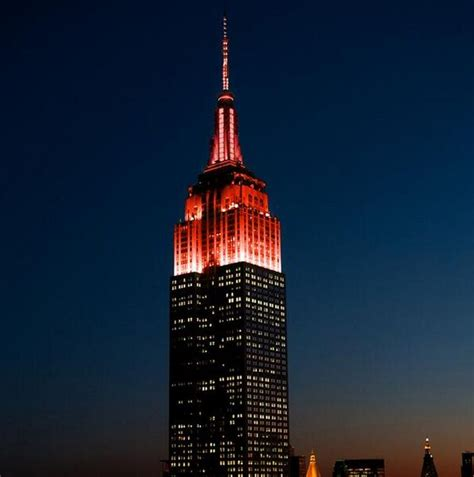 empire state building lights today 22 best images about americanheart on pinterest heart