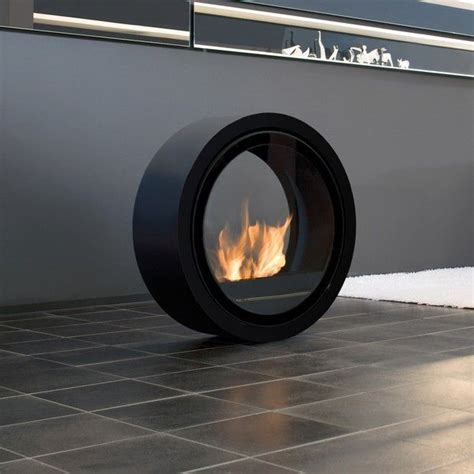 movable fireplace from touch of modern the stainless