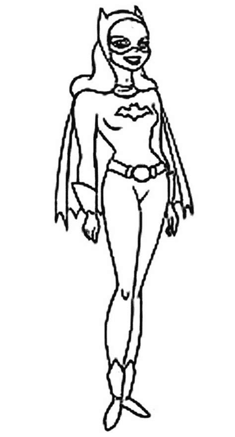 batgirl coloring pages free coloring pages for batgirl coloring pages