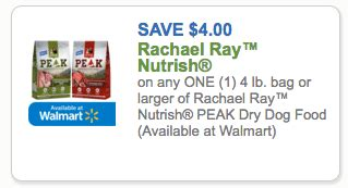 printable rachael ray dog food coupons new 4 1 rachael ray nutrish peak dog food coupon only