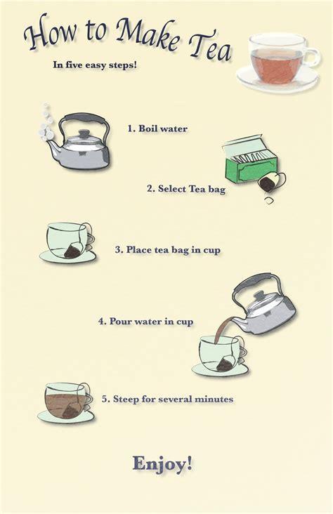 jocelyn s illustration blog how to make tea