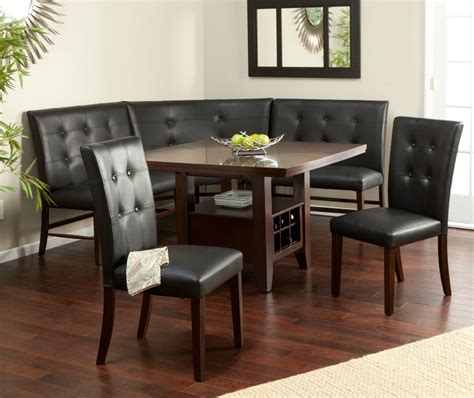 Nook Dining Room Set 21 Space Saving Corner Breakfast Nook Furniture Sets Booths