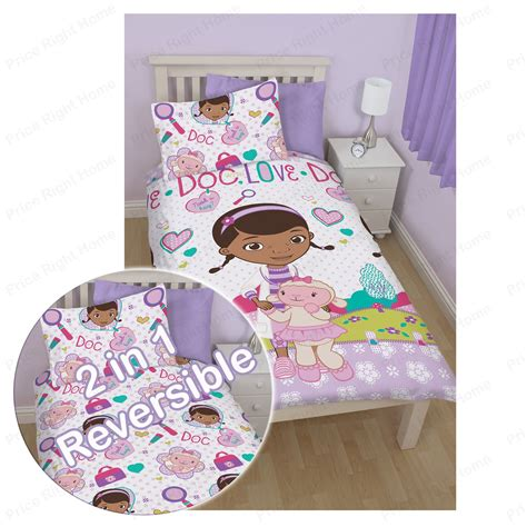 Bedcover Cbaracter character duvet cover sets official bedding frozen sofia more ebay