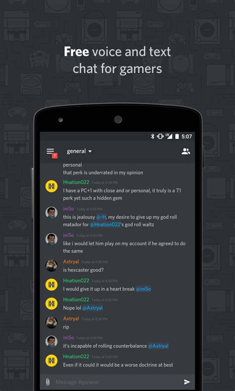 discord android app of the day discord chat for gamers android app