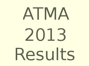 Atma Mba Cet Result by Aims Atma July 2013 Entrance Test Results Declared