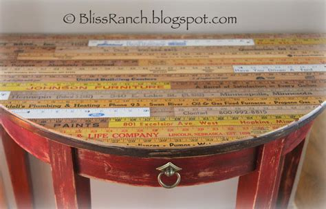 repurposed table top ideas 11 ways to repurpose yardsticks and rulers dukes and