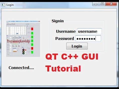 qt interface tutorial qt 13 videolike
