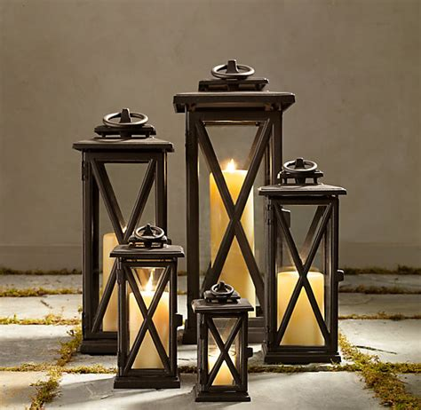 Outdoor Candle Holders lanterns bronze outdoor candle holders home accessories