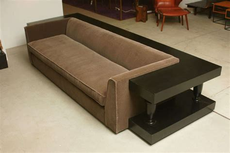 Sofa Wrap by Stunning Sofa And Wrap Around Console By Mont At 1stdibs