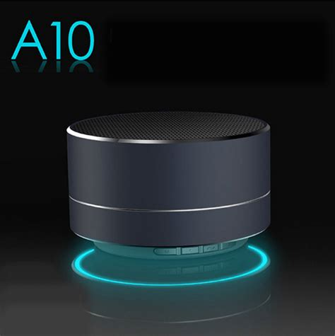 Speaker Mp3 Mini Bluetooth F A10 apollo wireless a10 bluetooth speaker subwoofer a10 handheld mini portable outdoor