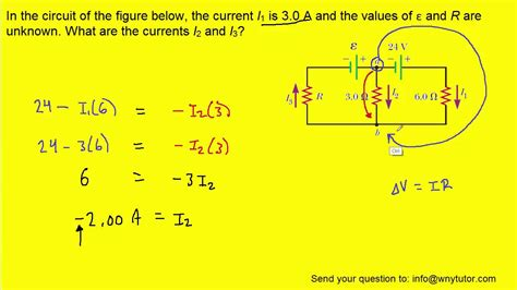 how to find the value of a current limiting resistor in the circuit of the figure below the current i1 is 3 0 a and the values of ε and r are