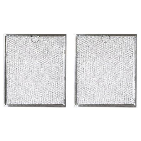 replacement microwave grease filter for ge general electric hotpoint wb6x486 2 filters