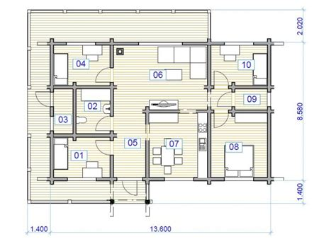 create house plans free project 100m2 dh 048
