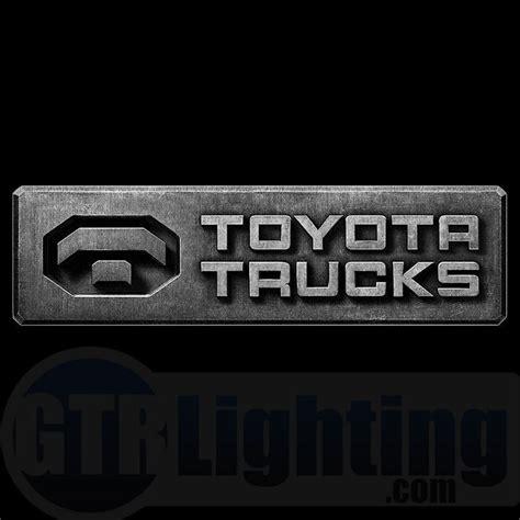 toyota trucks logo gtr lighting led logo projectors toyota trucks logo 51