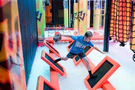 warrior  ninja obstacle   kids  adults
