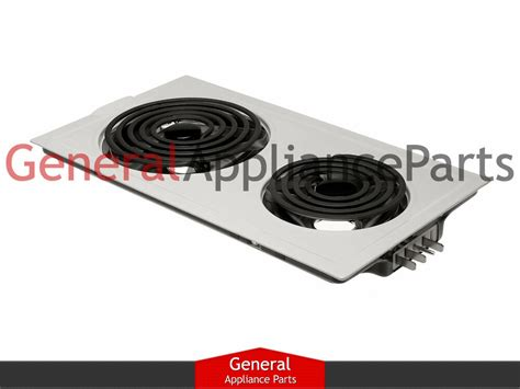 Jenn Air Electric Cooktop Replacement Parts - jenn air designer line cooktop white electric coil element