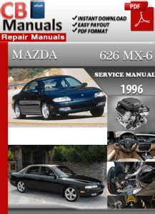 free service manuals online 1990 mazda mx 6 spare parts catalogs mazda 626 mx 6 1996 service manual free download service repair manuals