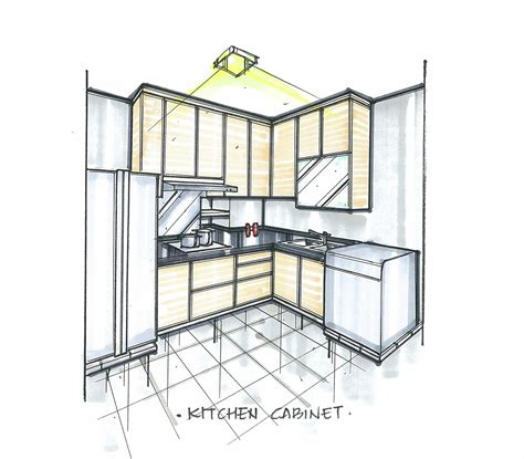 sketch to design a 3d kitchen 3d design is out our palace