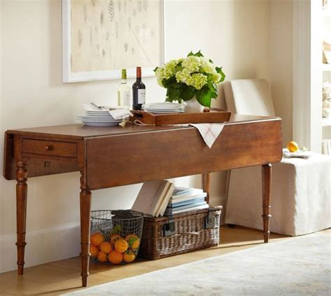 pottery barn dining rooms pinterest drop leaf console pottery barn dining room pinterest