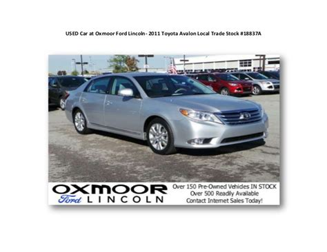 Toyota Oxmoor Oxmoor Lincoln Louisville Lincoln New And Used Sales