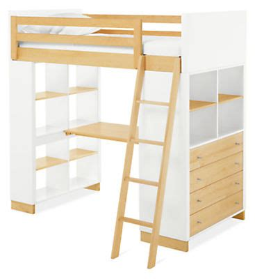 room and board bunk beds moda wood loft with desk dresser modern bunks lofts modern furniture room